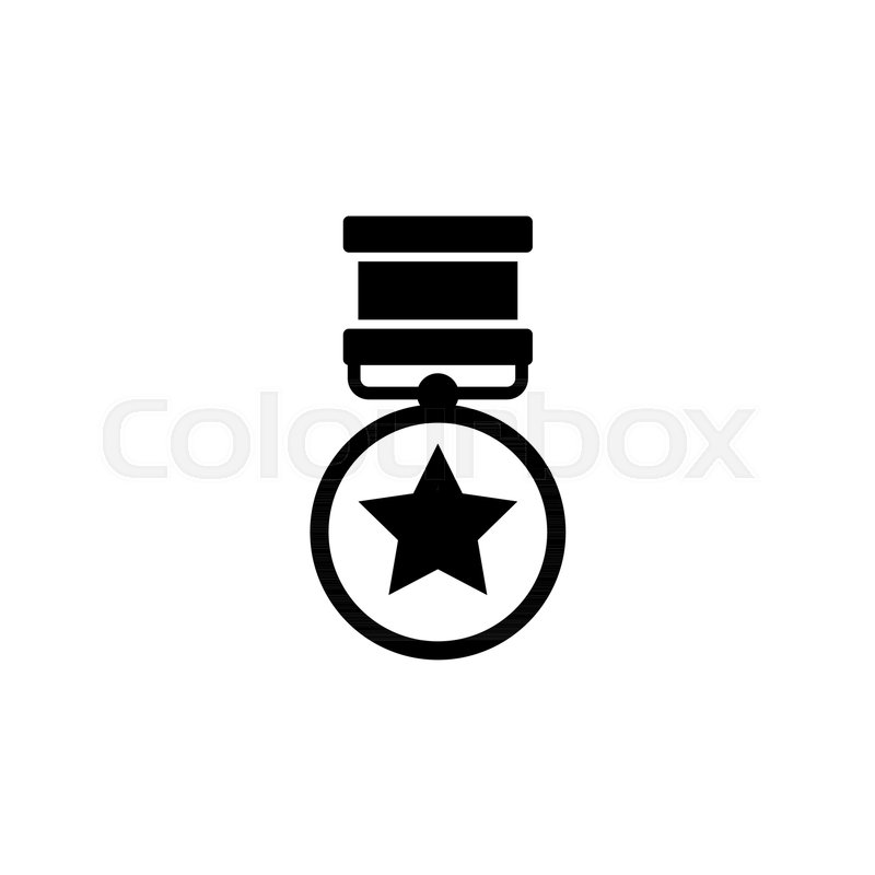 800x800 medal of valor medal of honor war stock vector colourbox