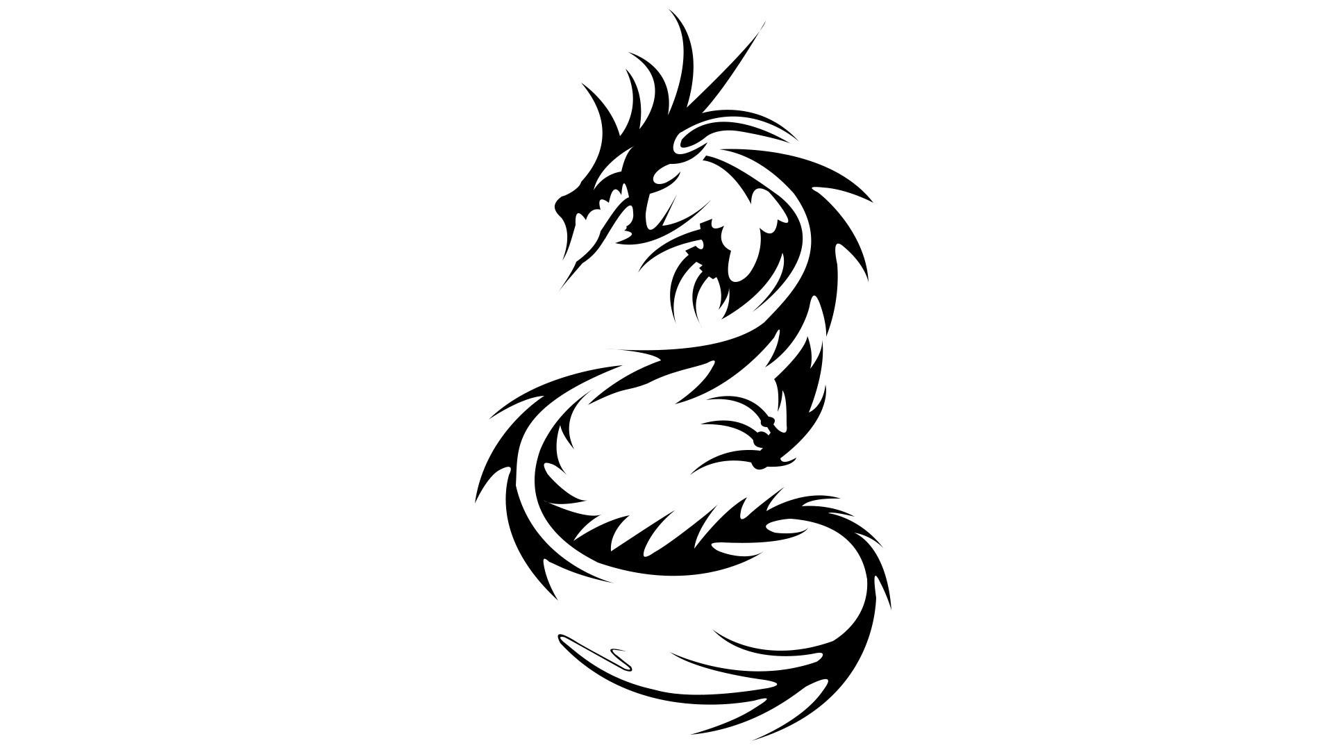 Medieval Dragon Drawing