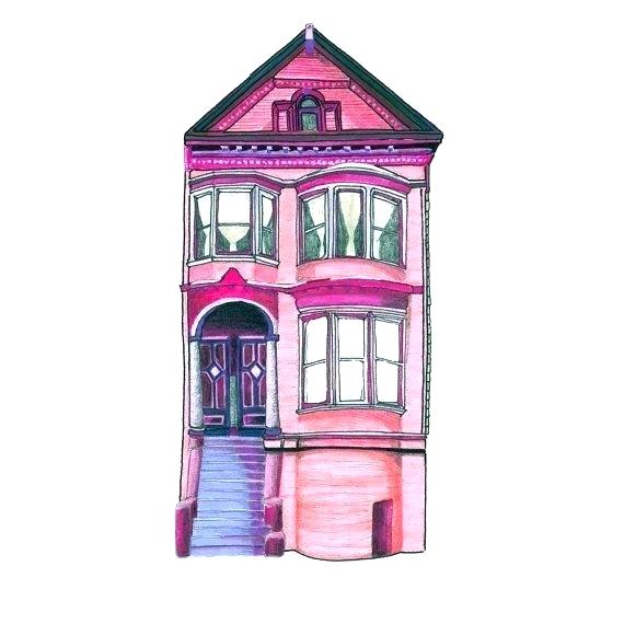 570x570 victorian house drawing abandoned and neighbors in victorian house