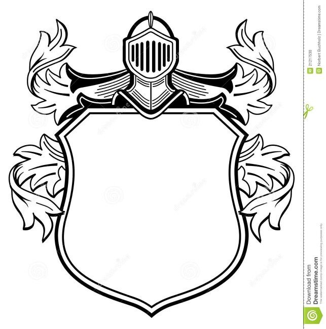 643x650 shield of arms base tattoo art coat of arms, knight logo