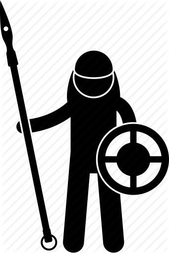 341x512 Collection Of Free Warrior Vector Medieval Soldier Download On Ui Ex