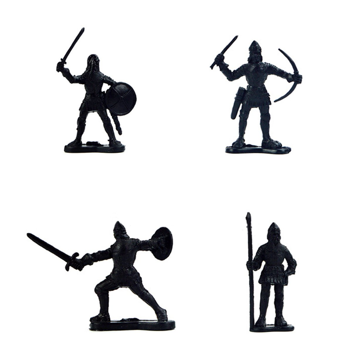 1200x1200 Pcs Set Medieval Military Knights Warriors Kids Toy Soldiers