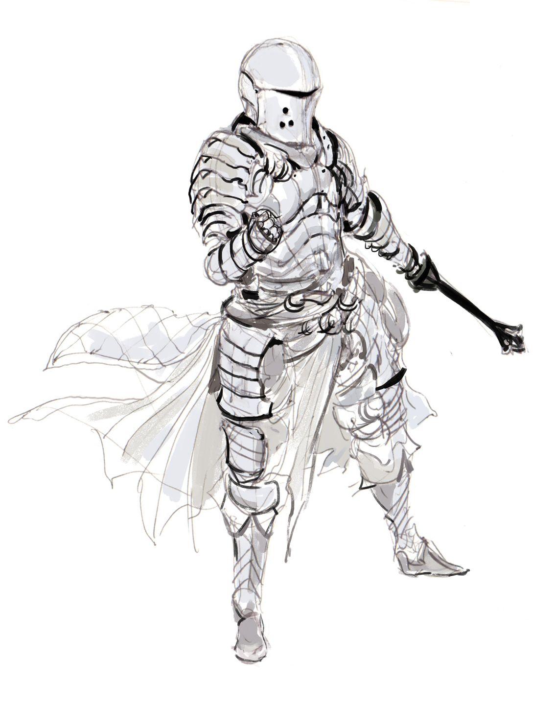 1132x1440 Kekai Kotaki Art In Knight, Fantasy Armor