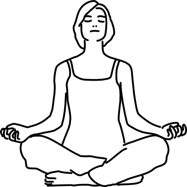 meditation pose drawing  free download on clipartmag