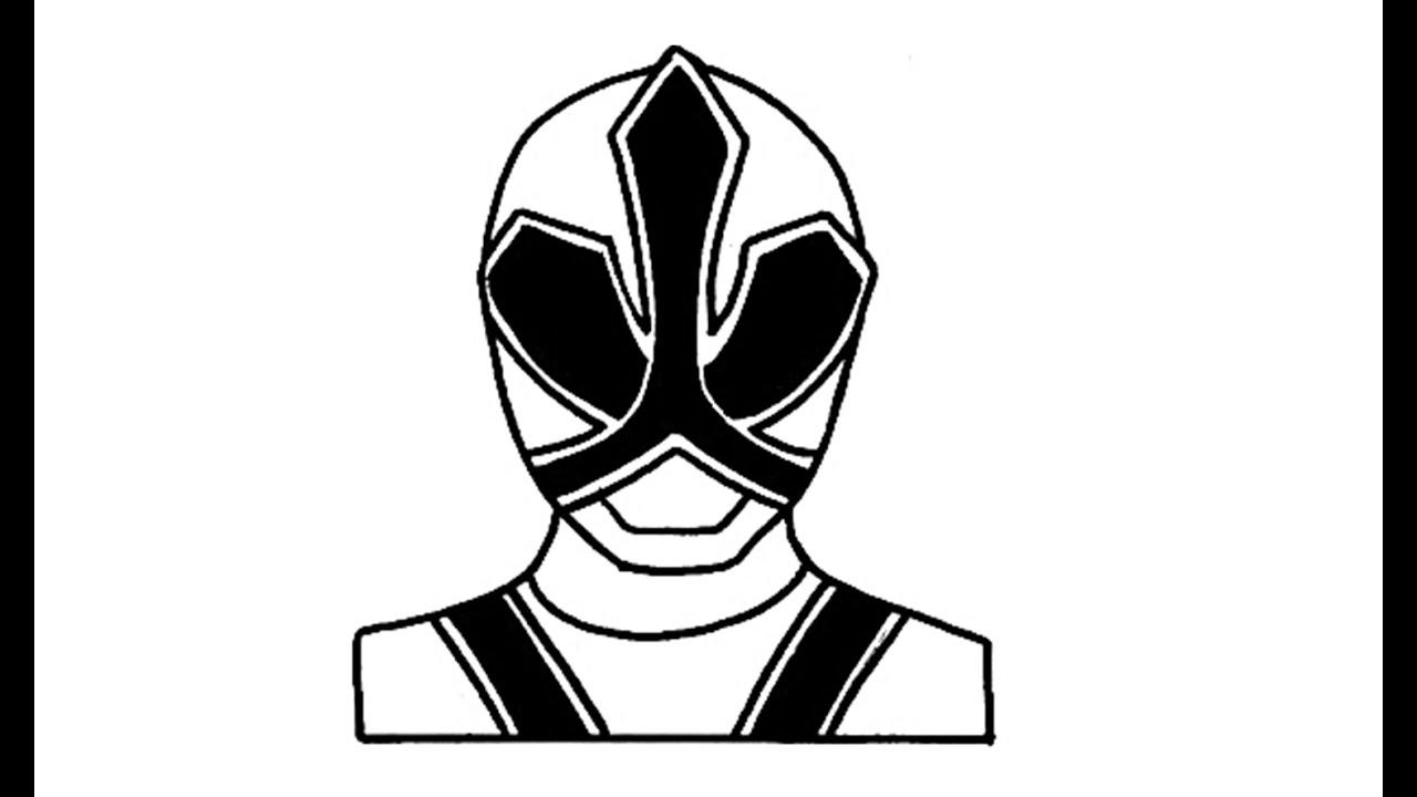 1280x720 How To Draw Red Ranger Samurai