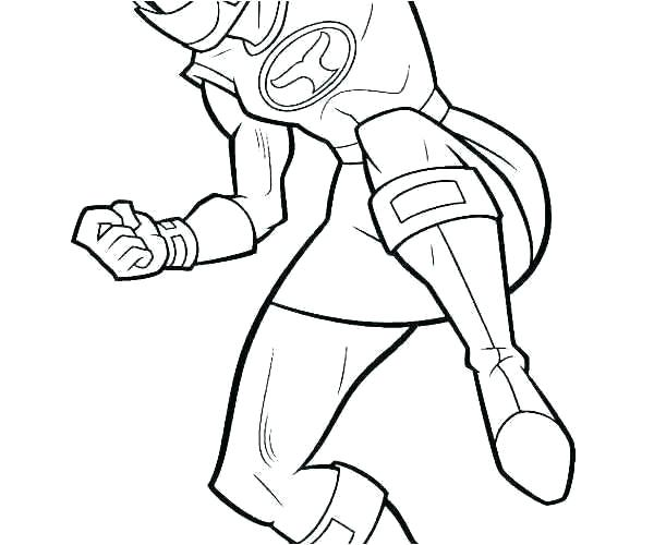 600x500 Power Rangers Dino Thunder Coloring Pages