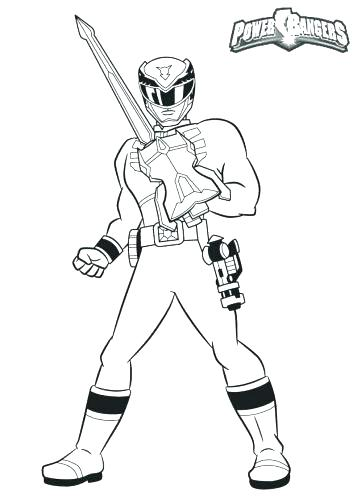 357x500 Coloring Pages Megazord Coloring Pages Drawing At Free