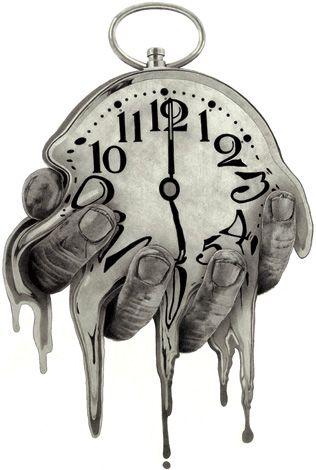 316x470 melting clock artsporation in clock art, clock drawings
