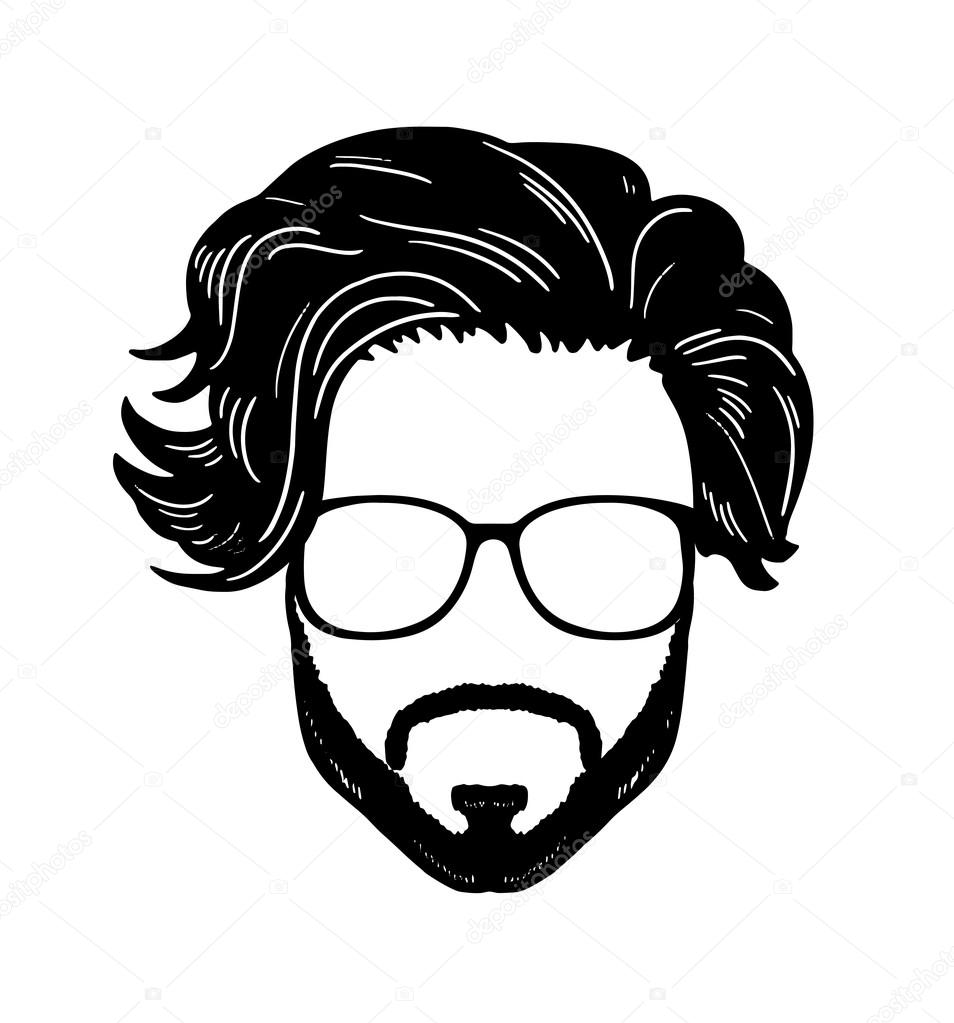 954x1023 Men Drawing Hipster For Free Download