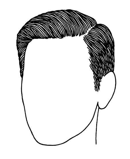 454x555 Classic Mens Haircut Hairstyle