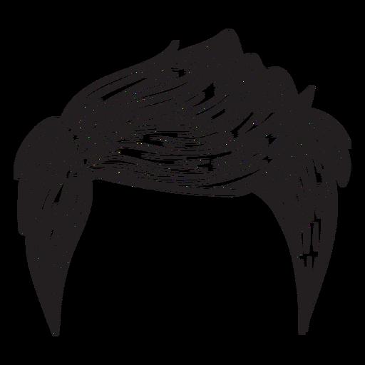 512x512 Men Hair Style Hand Drawn