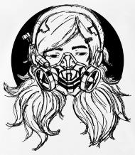 190x218 Skull Spezial Horror Drawing Mask Men's T Shirt Spreadshirt