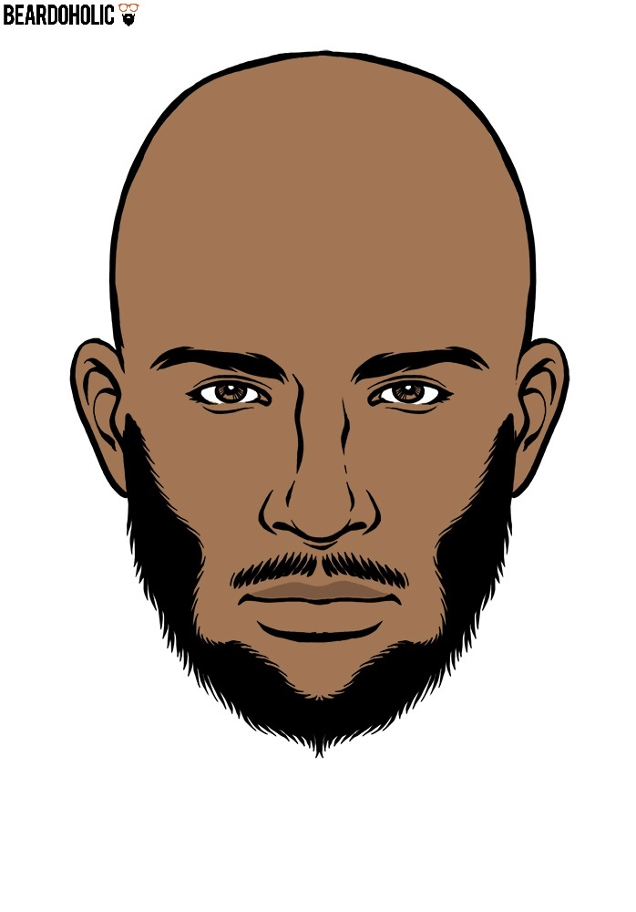 698x1000 Trendy And Popular Beard Styles For Black Men
