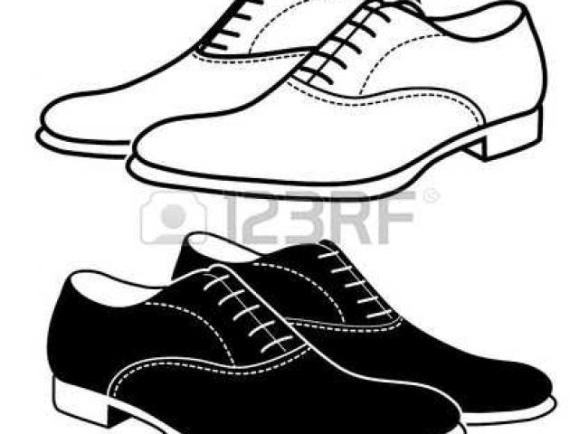 640x480 Men's Shoes Cliparts