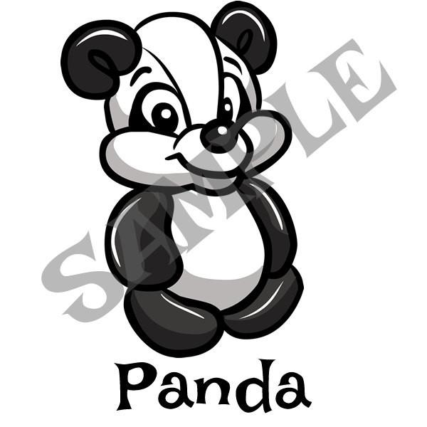 600x600 panda menu item twister sister balloon supplies