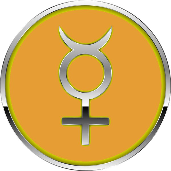 600x600 Mercury Symbol And Planet Meaning On Whats Your Sign