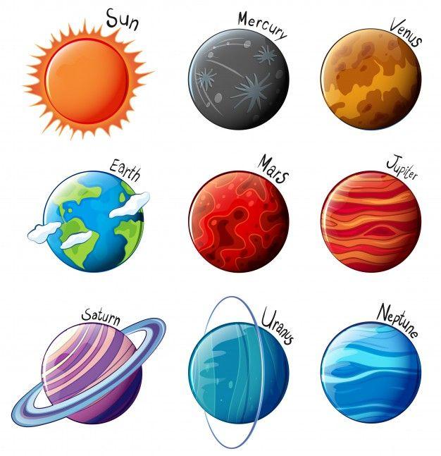 626x647 Resultado De Imagem Para Desenho Sistema Solar Estudos