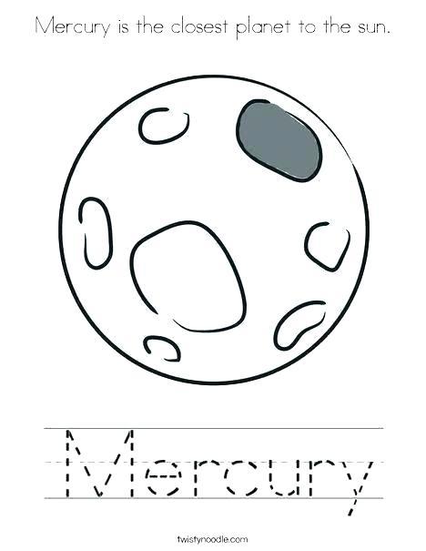 468x605 Mercury Coloring