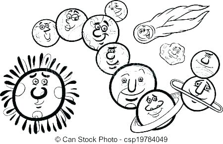 450x292 Astronomy Coloring Pages Mercury Coloring