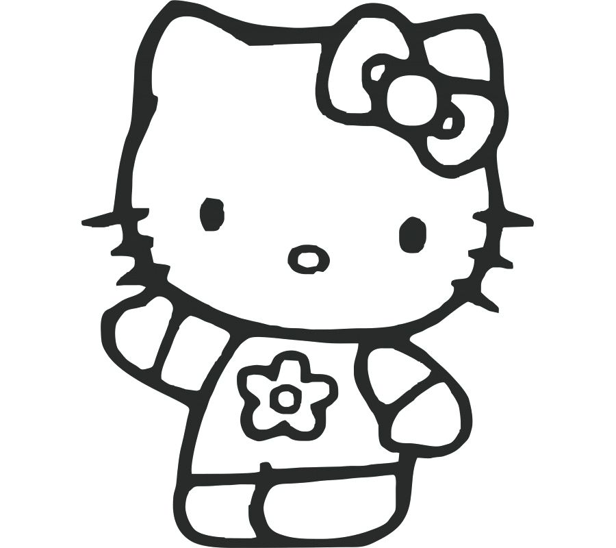 900x800 Hello Kitty Pictures For Coloring Hello Kitty Coloring Book