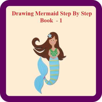 355x355 Drawing Mermaid Step