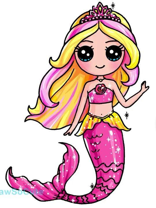 540x720 Barbie Mermaid Rock Painting Dibujos Kawaii, Dibujos, Dibujos