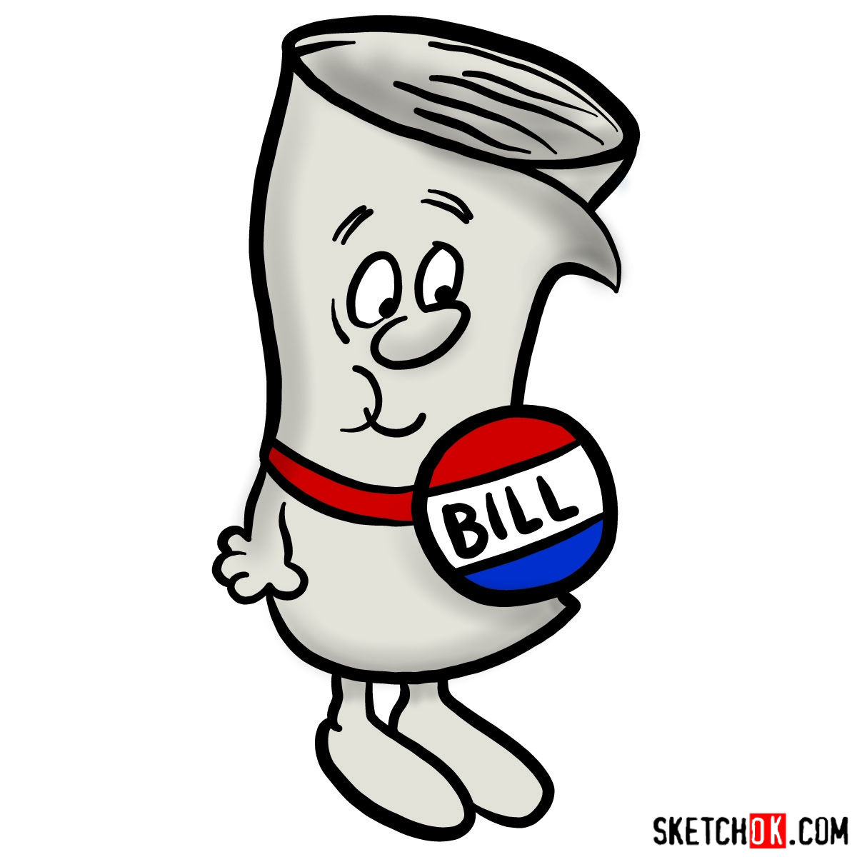 1200x1200 How To Draw Bill From School House Rock