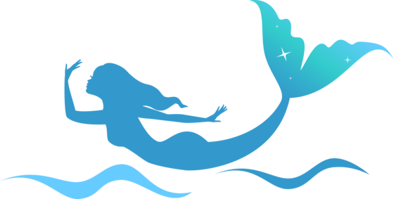560x283 Mermaid Png Outline Free Mermaid Outline Transparent Images