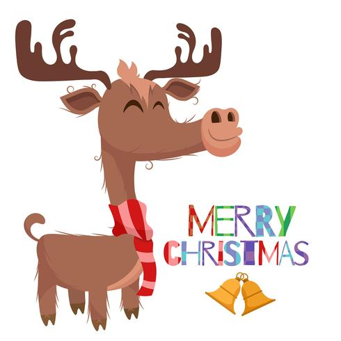 490x490 Drawing Of Reindeer For Christmas