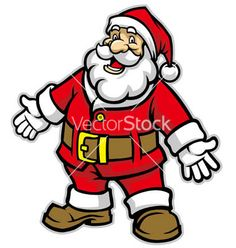 236x248 Drawn Santa Merry Christmas