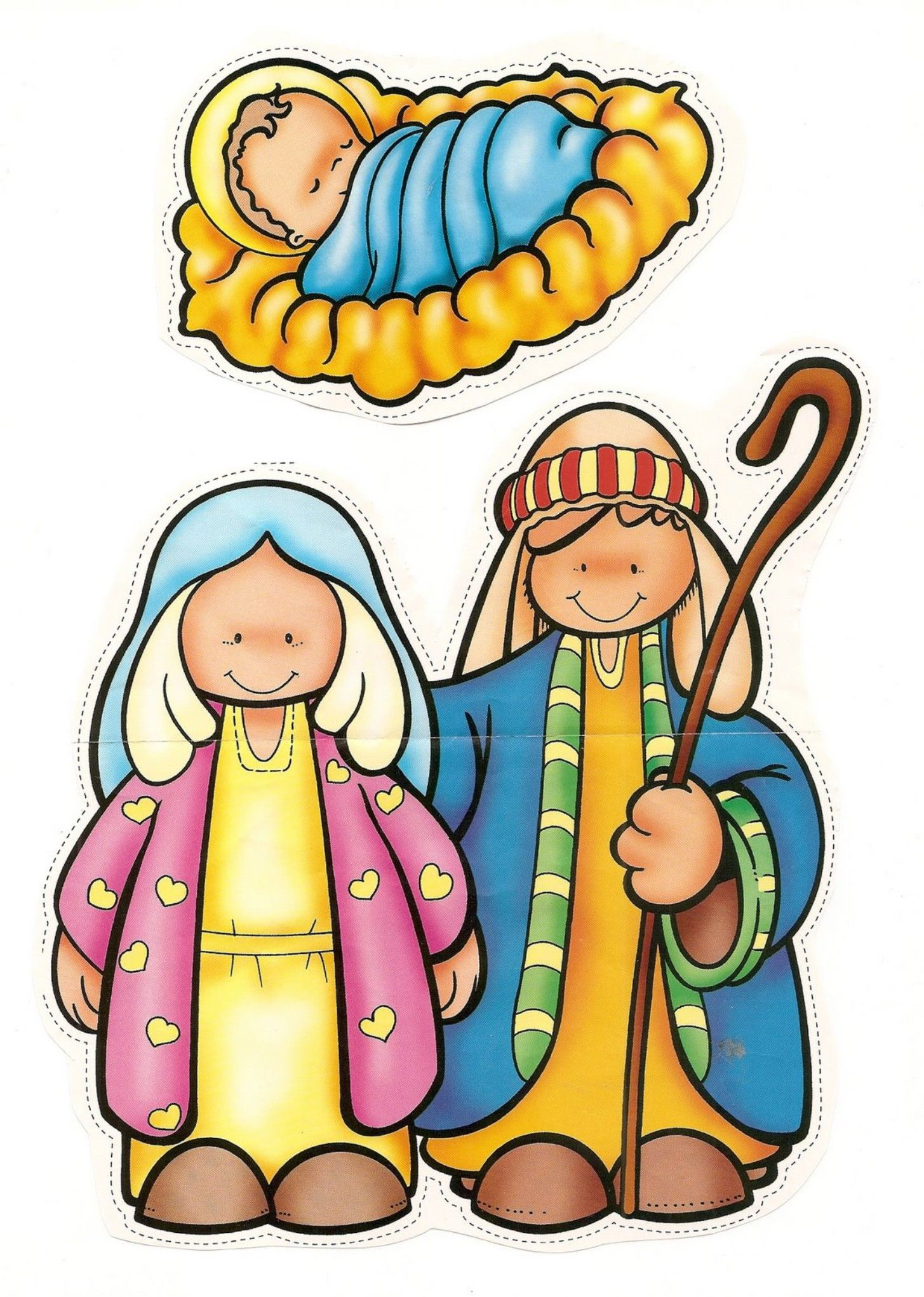 1455x2042 Christmas Nativity Christmas Drawing