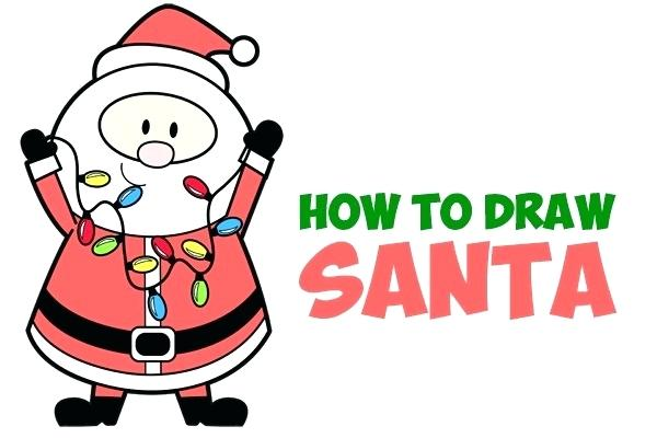 600x400 Christmas How To Draw