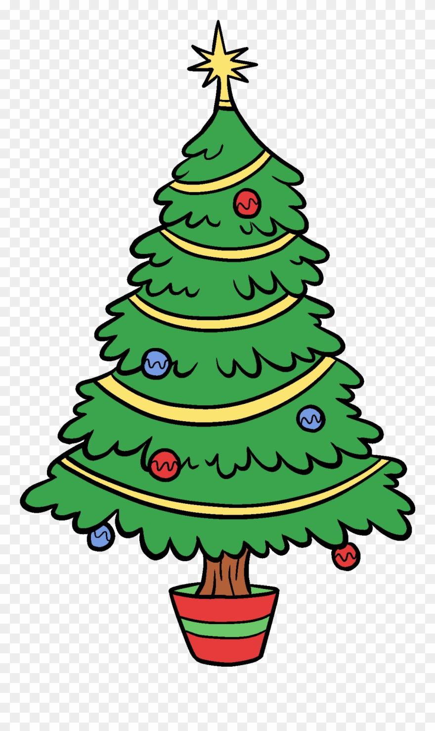 880x1477 Christmas Tree Clip Art