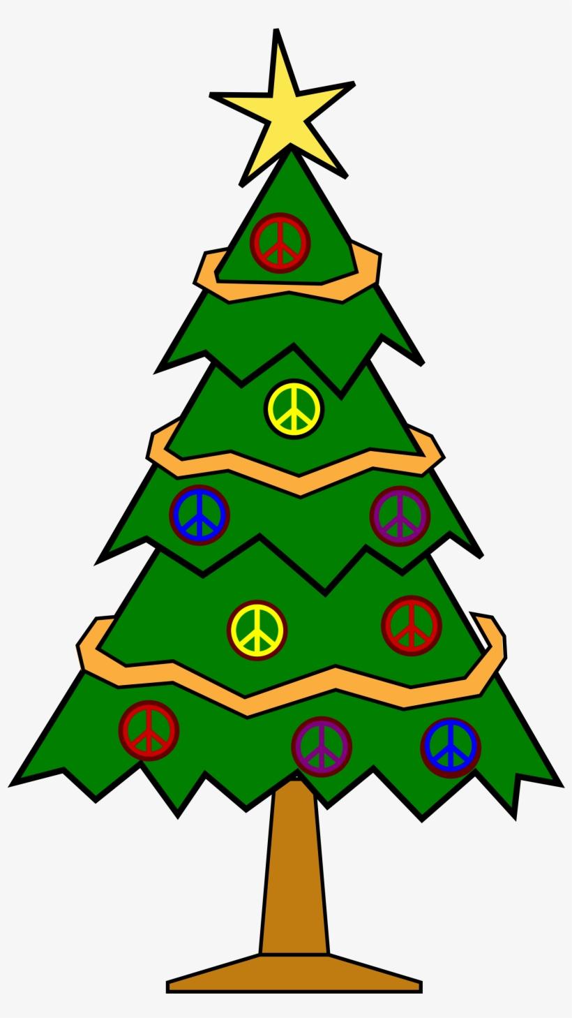 820x1458 Christmas Tree Clipart Christmas Symbol