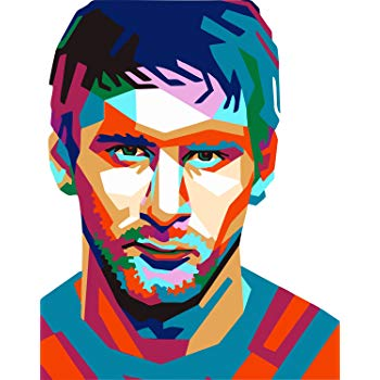 350x350 art bundlemessi fan art decorative poster lionel messi poster