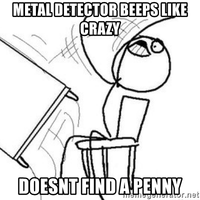 400x400 Metal Detector Beeps Like Crazy Doesnt Find A Penny