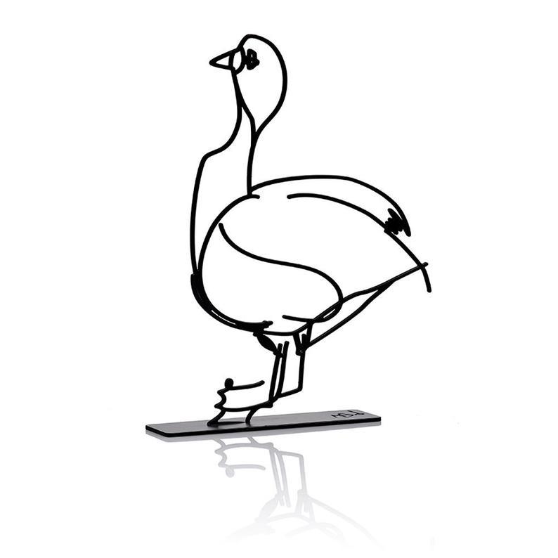 794x794 Wanetik Art Goose Sculpture Metal Sculpture Etsy