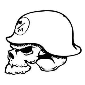 300x300 Metal Mulisha Skull