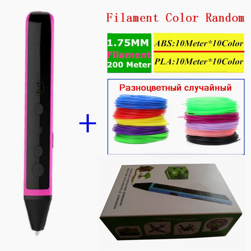 800x800 Can Speaking Pen D Printer Drawing Magic Printing Pens