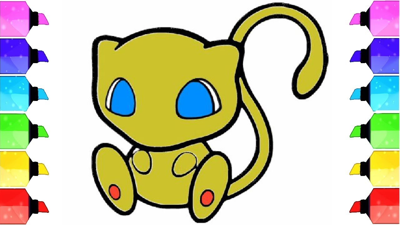 1280x720 How To Draw Mew