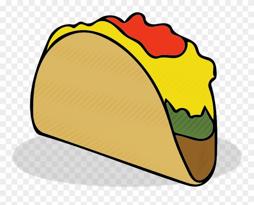 880x711 taco,tacos,food,fast food,eating,mexican food,clipart