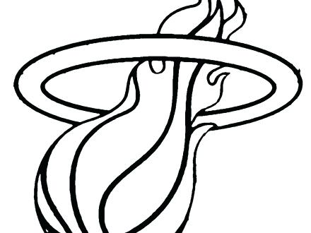 440x330 miami heat coloring pages coloring pages heat logo miami heat