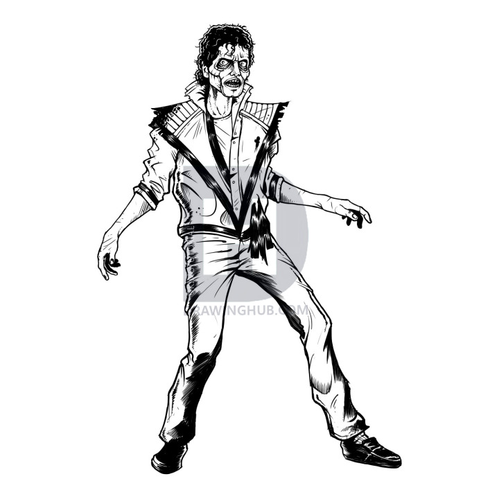 720x720 how to draw michael jackson thriller, thriller michael jackson
