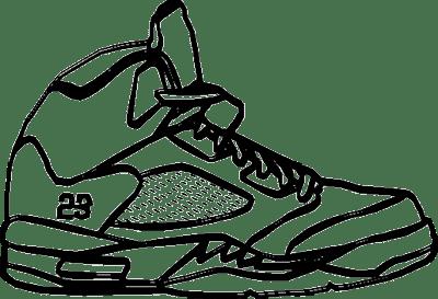400x273 air jordan shoes coloring pages show me more jordan colouring
