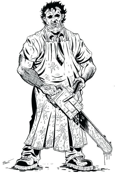 Michael Myers Drawing | Free download on ClipArtMag