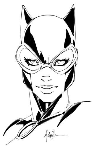 328x500 catwoman note how michael turner's catwoman has eyes that are too