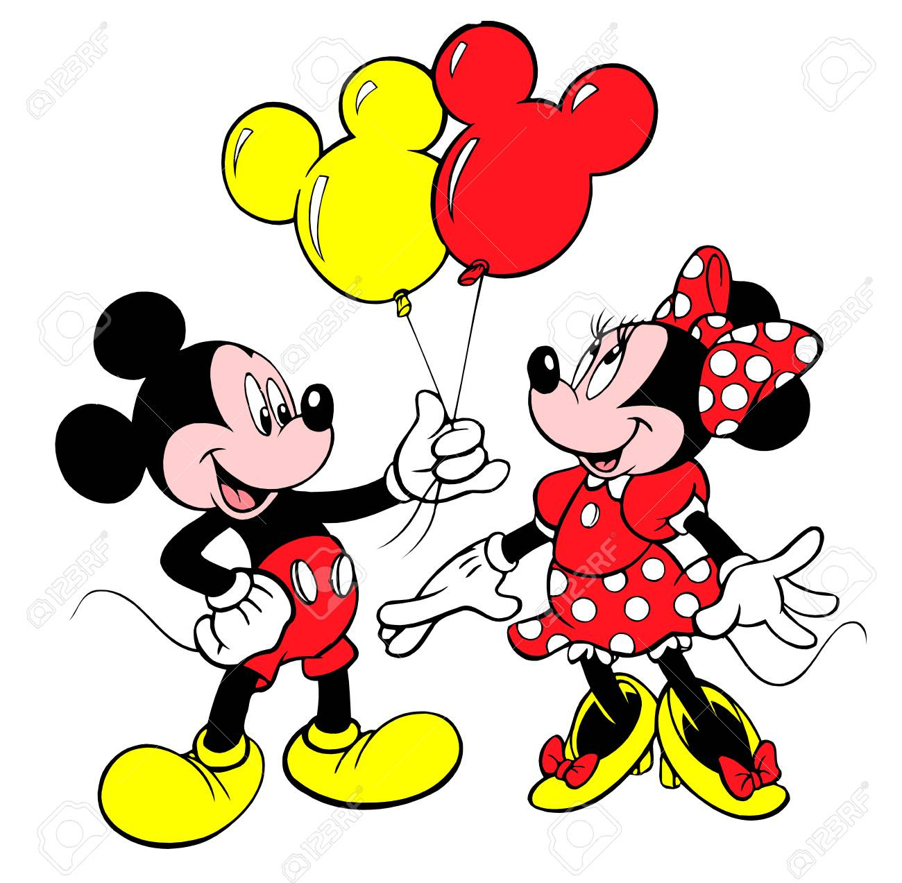 1300x1273 how to draw a easy mickey mouse minnie mouse drawing stepstep idea