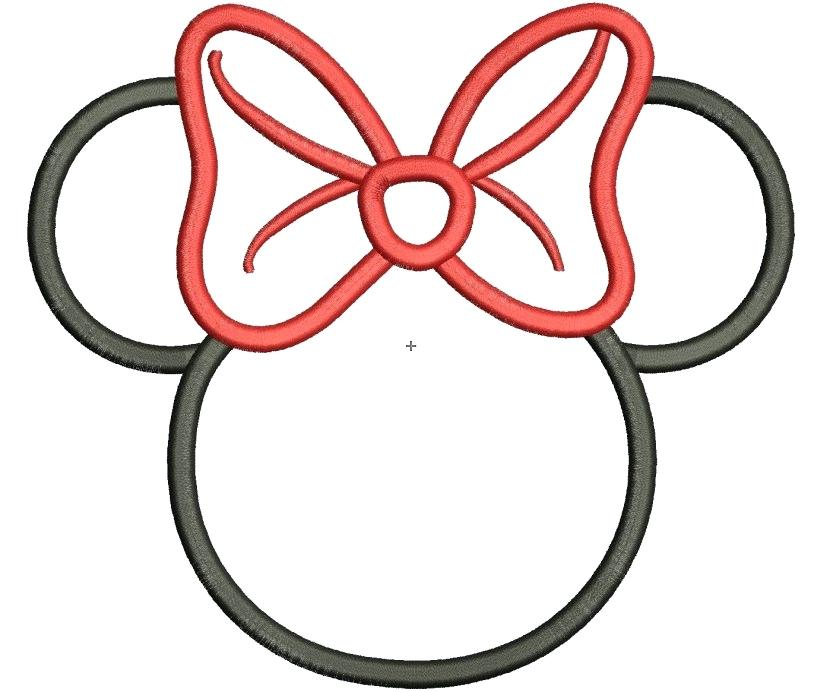 830x692 minnie mouse head drawing mickey mouse head easy minnie mouse head