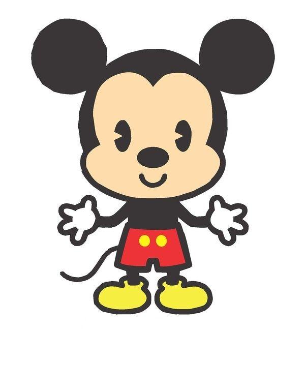 600x771 Chibi Mickey Mouse