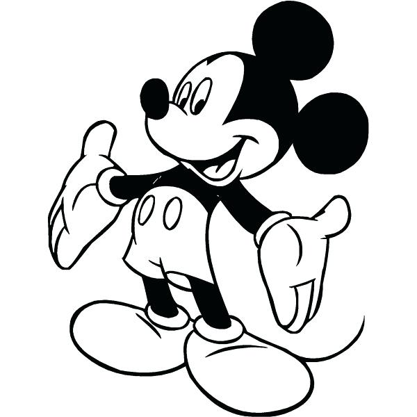 600x600 Mickey And Minnie Drawings